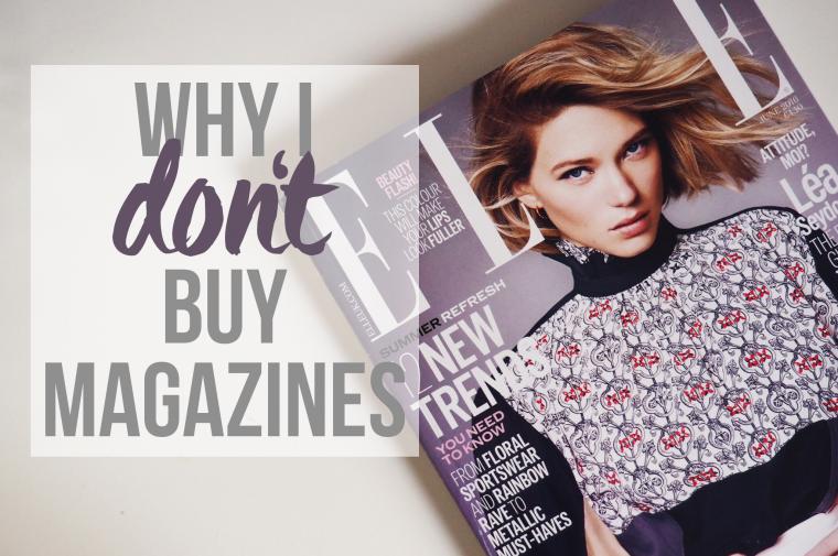 Why I Don't Buy Magazines - lazythoughts.co.uk