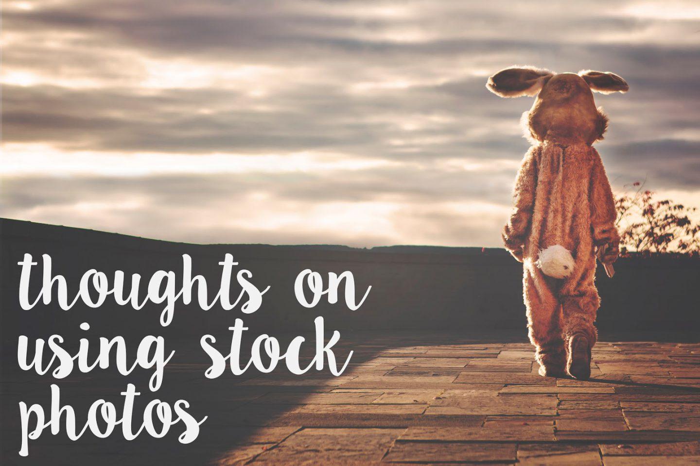 Using Stock Photos in Blogging