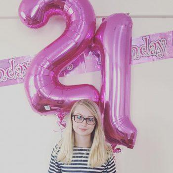 I turned twenty one