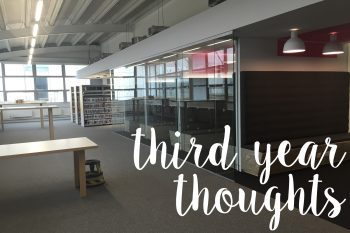 Third year thoughts | lazythoughts.co.uk