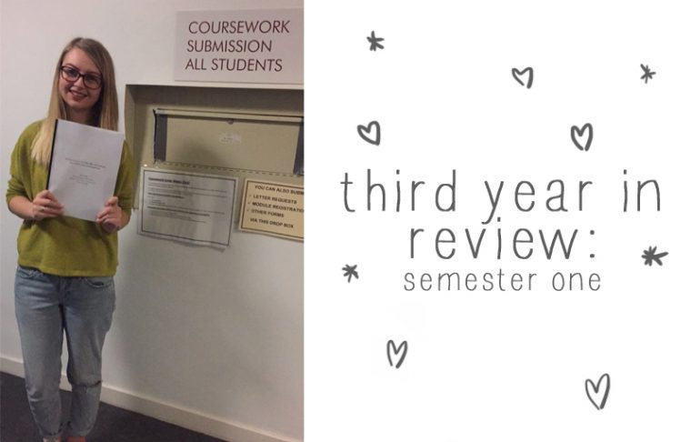 Third Year in Review: Semester One