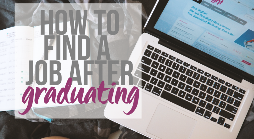 How To Find a Job After Graduating - Lazy Thoughts