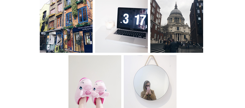 Top 5 Instagram from February 2017