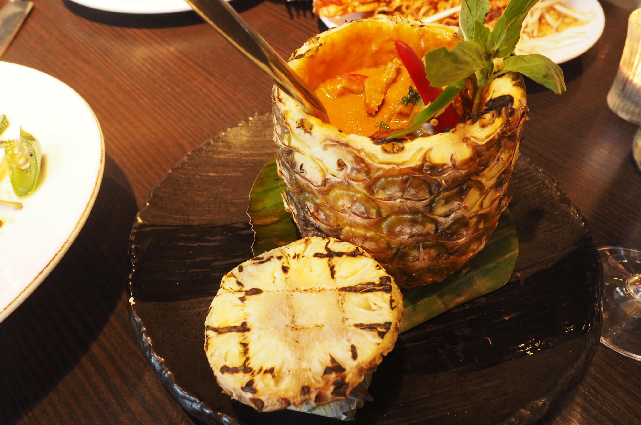 Thai Red Curry Mango Tree Belgravia