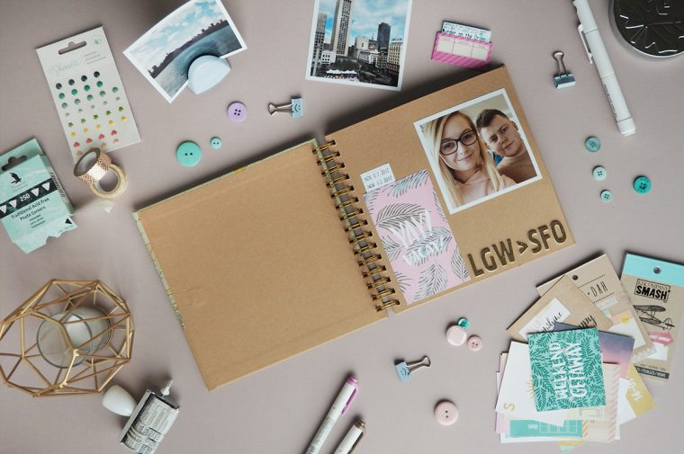 Scrapbooking San Francisco | lazythoughts.co.uk