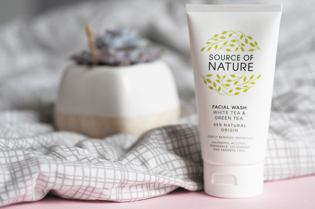 source of nature face wash - a cruelty-free update | lazythoughts.co.uk