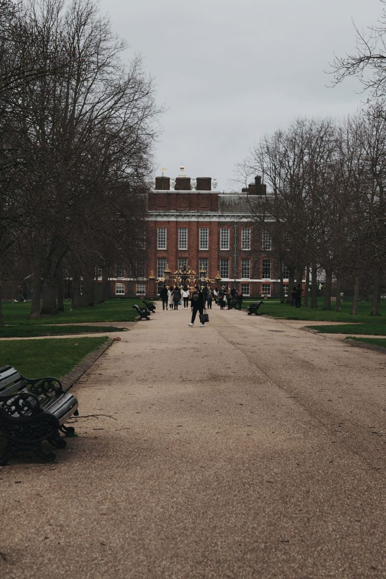 Kensington Palace in Kensington Gardens