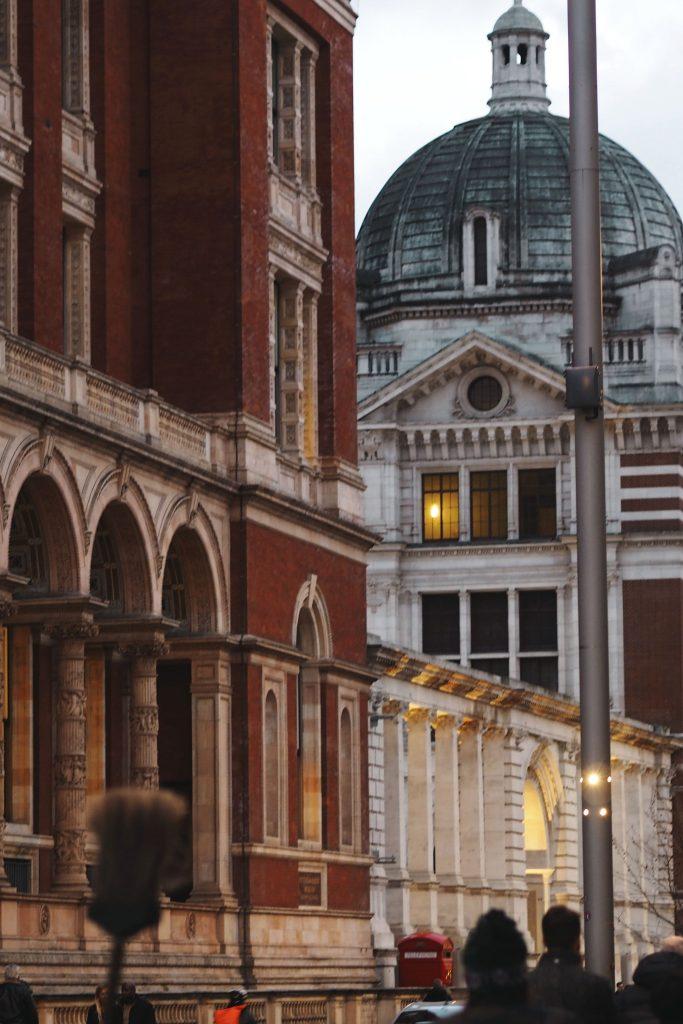 Old buildings in London's Kensington